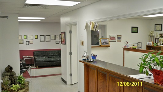 Office Greeting Area